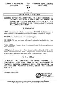 Ordinanza 21